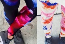 Custom Made Leggings / Would you like to know how to design  your own leggings? Join our workshops!