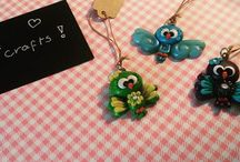 My own fimo / polymer clay projects