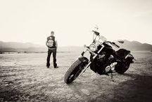 Motorcyclist photoshoot