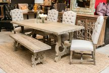 Dining Room Sets On SALE! / Take advantage of our current sales on these rustic dining room sets. Rustic Refined Dining Furniture For Your Home! http://www.TaramundiFurniture.com