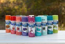 DIY Cómo pintar con aerosoles