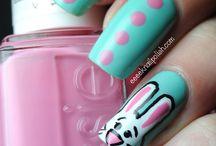 :) nails