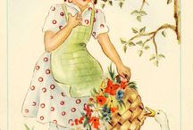 Vintage Images and Illustratations / Vintage Graphics, Printable, Postcards, ETC For use in Altered Art.. or Just to Admire