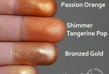 mineral swatches
