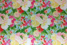 Chintz fabric and china / by Stephanie Ann