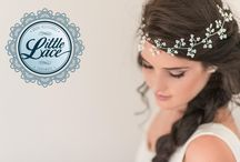 Little Lace Hair Accessories / A wide range of gorgeous hair accessories perfect for your wedding day. Category includes flower crowns, hair pieces, hair pins and hair combs.