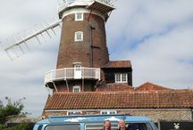 Mr Blue Sky / A great Van to have an adventure in