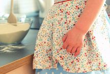 aprons for big and small cooks
