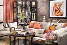 Soho Chic / This NYC apartment was a mix of femininity, glamour, and modern edge.