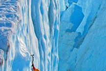 ice climbing / a true test of endurance, skill and thrill