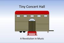 Tiny Concert Hall / Links to YouTube Videos in the Tiny Concert Hall Series: Music & Architecture/Construction Humor