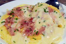 uova, frittate, crepes e lasagne