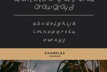 Typefaces ...