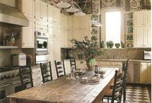 rustic harvest tables/farm tables / These are all tables we can build to specifications
