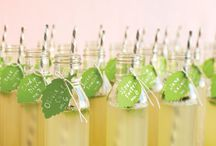 Drinkies / Signature drink ideas for weddings and parties