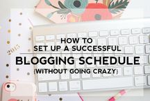 Blog Organization / Blog schedules, creating a calendar for your blog, keeping on top of your blogging schedule.