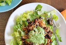 Rabbit Food / Salads/dressings/skinny callings