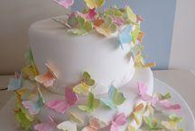 butterflies cake decoration