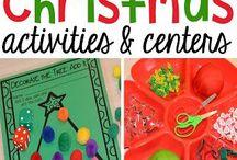 χριστουγεννα δραστηριοτητες