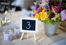 Marcadores de Lugar/Table Setting