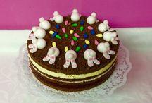 Happy Easter Cake/ Frohe Ostern Torten