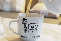 ręcznie malowane kubki / hand painted mugs