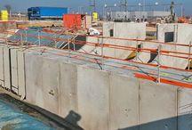 Gare de péage de Coutevroult / Dans le cadre de l'amélioration de la sécurité pour le personnel de la gare de péage de Coutevroult (77 / autoroute A4), Chapsol réalise 139 m.l. de galerie péagère disposée sous les ilots.