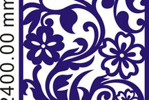 painel flor