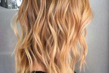 ciepły blond