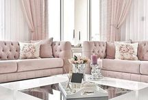 Blush & Silver Home Decor