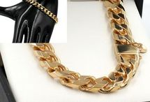 Medium Gold Chains Bracelets / Choose from 50 Styles Solid 9ct Gold Chains of all styles between 4mm and 8.9mm in width. Made to any length in yellow, rose or white gold. Product codes HM-xxxx can be made in any combination of colours https://www.chain-me-up.com.au/9ct-solid-gold-chains-necklaces-bracelets.asp