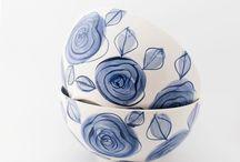 DaWanda ♥ Marbeling, Ceramic & Watercolour