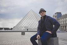 """Steven Cox Instagram Photos That time in Paris. Doing my best """"J'aimerais être Français"""". #paris #louvre #thelouvre #travel #traveller"""