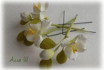 Yapay Çiçek yapımı