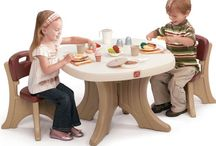 Plastic Table and Chair Sets for Toddlers