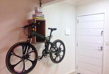 Suporte para bike parede / Transforme sua bike num objeto de decoração!