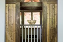 ceiling hung barn doors