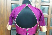 blouses for banarasi silk saree