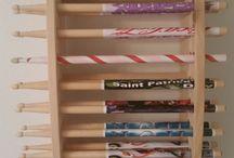 drumstick display