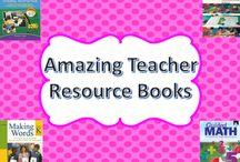 Teacher Resource Books / This board contains awesome teacher resource books! I will be pinning the best of the best teacher resource books here!  #teacherresources #booksforteachers #teacherresourcebooks #teachers