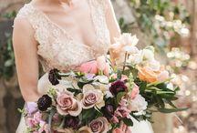 Bouquets. LOVELYNESS. / Beautiful bouquets. #weddinginspo #wedding #weddingideas #weddingstyle #weddingbouquet #bridetobe #floristry #flowers #foliage
