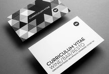 Creative Business Cards / Outstanding, clever and beautiful business card designs