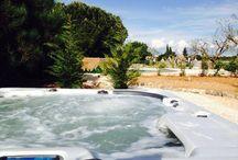 Vasca Spa con idromassaggio / 6 posti (5 sedute più un lettino)
