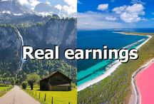 Real earnings