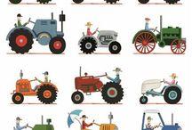 Traktoreita