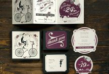 GRAPHIC - Wedding Invite / by Joffrey Escudier