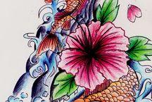 Japanese sleeve / Tattoo