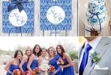 Cobalt Blue Wedding / Cobalt Blue Wedding Invitations, Stationery and Inspirations