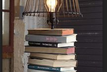 Book lamp /  Old books