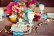 Tablescapes / Tablescape, table settings, name cards